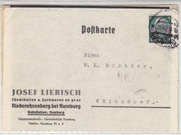 2 Karten Aus RUMBURG 20.XII.38 + 8.XII.38 Nach Wölmsdorf - Bohemia & Moravia