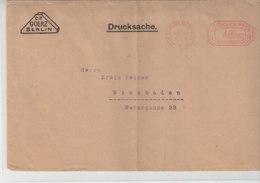 Freistempel Mit 4000000 Der Fa. Goerz Aus BERLIN-WILMERSDORF 6.10.23 / War Gefaltet - Lettres & Documents