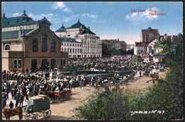 Estonia: Tallin (Reval), Turg / Marktplatz  1926 - Estonie