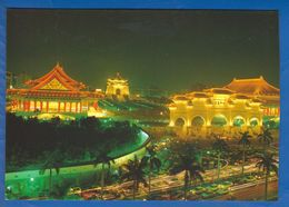 Taiwan; Chiang Kai-shek Memorial Hall, Taipei - Taiwan