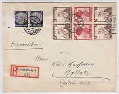 Deutsches Reich R-Brief Mit Trachten ZD-Frankatur - Duitsland