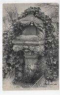 (RECTO / VERSO) ASNIERES EN 1907 - N° 13 - CIMETIERE DES CHIENS - BEAU CACHET - CPA VOYAGEE - Asnieres Sur Seine