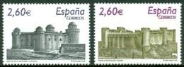 SPAIN 2008 CASTLES** (MNH) - 1931-Today: 2nd Rep - ... Juan Carlos I