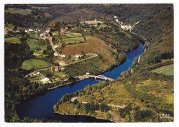 23 Chatelus Le Marcheix Vers Bourganeuf Et Bénévent L'Abbaye Le Barrage De La Roche Talamie Sur Le Taurion En 1979 - Benevent L'Abbaye