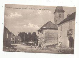 Cp , 25 , CUSSEY SUR L'OGNON ,la Mairie , Le Bas Du Village , Voyagée 1930 - Altri Comuni