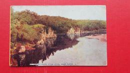 THE PALISADES,CEDAR RIVER,CEDAR RAPIDS.Sent To Bohemia - Cedar Rapids