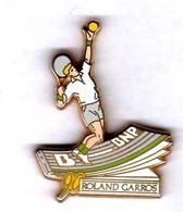 Pin's Tennis Roland Garros BNP 1990 Zamac Arthus Bertrand - Arthus Bertrand