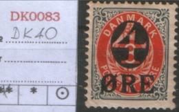 DANMARK 1904  DK 40Y Mi $15 - 1864-04 (Christian IX)