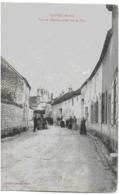 LOIVRE - VUE DE L'EGLISE, PRISE RUE DE BAC - BELLE ANIMATION - 1905 - Autres Communes