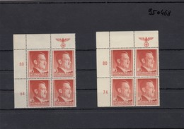 GG Generalgouvernement MiNr. 76 ORI  **, VE1, Plattenfehler Im Vergleich - 64/74 - Besetzungen 1938-45