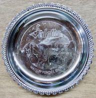 COUPELLE CENDRIER ? SALETTE MAISON FONDEE EN 1920 ( FOIE GRAS DU PERIGORD ) - Ceniceros