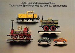 Auto Lok Und Dampfmaschine Technische Spielwaren Des 19 Und 20 Jahrhunderts - Sin Clasificación