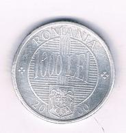 1000 LEI 2000  ROEMENIE /5113// - Roumanie