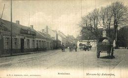 Merksem Merxem    Bredabaan Uitg Hermans N°8 Anno 1902 Café Zaal Den Doornboom ANVERS ANTWERPEN - Other