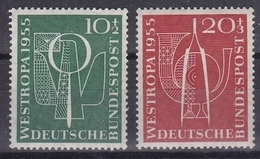GERMANIA BUND  1955  Xx    MI 217-18   -   Postfrisch    -  Vedi  Foto  ! - [7] République Fédérale