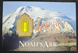 Armenien/Armenie/Armenia  500 DRAM NOAH'S ARK 2017 COMMEMORATIVE BANKNOTE With Folder - Armenia