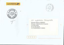 Cachet Manuel De La Direction Du Courrier _ Marne La Vallée - Postmark Collection (Covers)