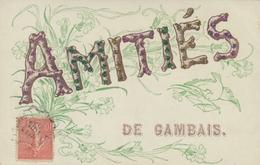 Buchstaben Cp Gambais Yvelines, Souvenir - France
