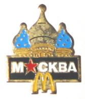 Pin's MAC DONALD MOSCOU - McDonald's
