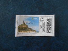 FRANCE  VIGNETTE MON TIMBRE EN LIGNE Lettre Verte 20g MONT ST-MICHEL - Personalized Stamps (MonTimbraMoi)