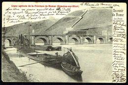 NAMUR - Pont De JAMBES - Circulé - Circulated - Gelaufen - 1902. - Namur