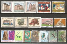 18 Timbres De 1993 ( Luxembourg / Neufs** ) - Nuovi