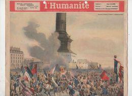 Calendrier L'HUMANITE    1948  (CAT 1811) - Kalenders