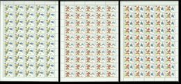 48 USSR RUSSIA 1991 OLYMPIC GAMES BARCELONA 1992 3SH MNH - Summer 1992: Barcelona
