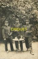Guerre 14-18, Carte Photo De 3 Poilus Du 135 ème, Angers Juillet 1914 - Guerre 1914-18