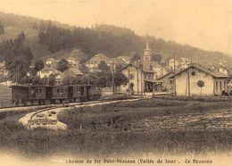 Chemin De Fer Pont-Brassus (Vallée De Joux)  - Le Brassus (reproduction 10 X 15 Cm) - VD Vaud