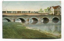 CPA  88 : NEUFCHATEAU   Pont Et Train   VOIR DESCRIPTIF  §§§ - Neufchateau