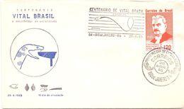 BRASIL Vital   COVER FDC   The Anti-acidic Serum,  1965   (GIUGN200230) - First Aid