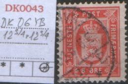 DANMARK DK D6 YB 12 3/4 - 1864-04 (Christian IX)