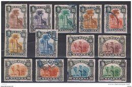 NYASSA:  1901  DEFINITIVA  -   S. CPL. 13  VAL.  L./US. -  YV/TELL. 27/39 - Nyassa