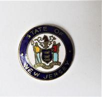 Pin's  Blason état USA NEW JERSEY - PA/CE - Steden