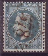 GC 578 Bourgneuf En Retz Loire Inferieure (42) Sur Lauré 29B - Marcophilie (Timbres Détachés)
