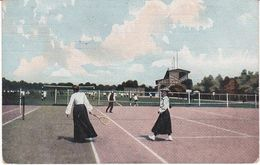 Tennis Vrouwen Oud 1908! T346 - Tennis