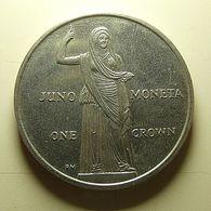 Isle Of Man 1 Crown 2012 - Regionale Währungen