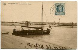Nieuport-Bains, Traversée Du Chenal. Non Circulé. Cachet Nieuwpoort 02/08/1922 - Nieuwpoort