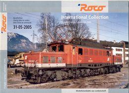 Catalogue ROCO 2005  International Collection Frühjar - Libros Y Revistas