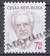 Czech Republic - Tcheque 2005 Yvert 391 -Definitive, President Vaclav Klaus - MNH - Tchéquie