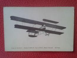 POSTAL POST CARD CAMP DE MAILLY FRANCIA ? BIPLAN FARMAN BIPLANO AVIÓN TYPE MILITAIRE MILITAR MOTOR MOTOR RENAULT ND PHOT - 1914-1918: 1a Guerra