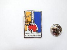 Beau Pin's , Sapeurs Pompiers D' Illzach , Haut Rhin , Alsace - Pompieri