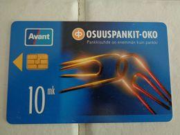 Finland Phonecard AVANT - RAHAKORTTI AVR-6 - Finland