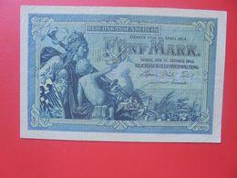 Reichskassenschein 5 MARK 1904 Circuler (B.15) - [ 2] 1871-1918 : Impero Tedesco