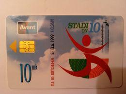 Finland Phonecard AVANT - RAHAKORTTI AVR-9 - Finland