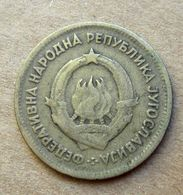 1955 JUGOSLAVIA 20 Dinari - Circolata - Joegoslavië