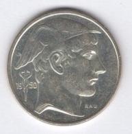 Belgique. Prince Charles. 50 FB 1950 FL. TTB. Morin #512. En Argent 10,4375 Ag Pur - 1945-1951: Régence