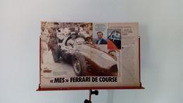 Coupure De Presse Paul Frère-mes Ferrari De Course - Autorennen