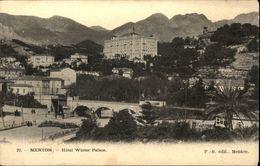 06  MENTON  Hotel Winter Palace - Menton